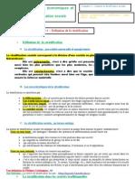 Chapitre Structure Sociale 2010-2011