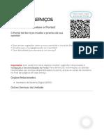 Dê sua opinião sobre o Portal! - GovBr.pdf