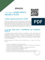 Decreto CPF - GovBr