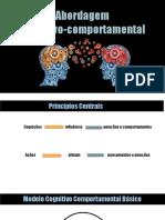 Slides - Abordaem Cognitivo-Comportamental