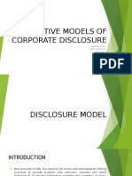 GGSR- Lec2- Alternative Models of Corporate Disclosure
