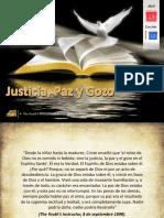 Lección 15 - Justicia, Paz y Gozo