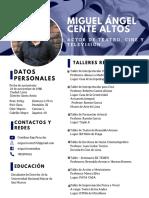 Miguel Cente CV