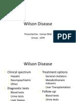 Wilson Disease Usman