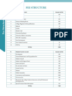 Fee Structure 2018-19