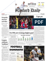 The Stanford Daily, Nov. 1, 2010