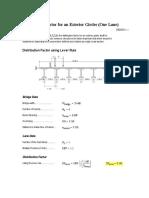 Rigid Cross-Section Distribution Factor Check