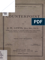 Counterpoint - J. H. Lewis