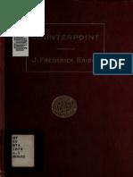 Counterpoint - J. Frederick Bridge