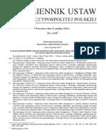 Rozporządzenie Ministra Sprawiedliwości z Dnia 28 Grudnia 2018 r.