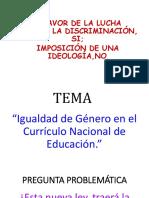 Diapositiva Ideología de Género Perú 2019
