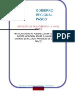 Perfil Completo - Pip Pte Colgante Vehicular Puerto Iscozacín