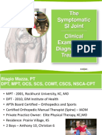 The Symptomatic SI Joint - Clinical Examination, Diagnosis and Treatment.pdf