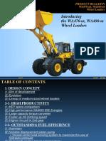 KOMATSU WA470-6R Wheel Loader Introduction
