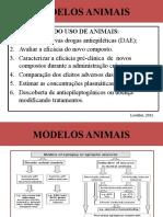modelos animais