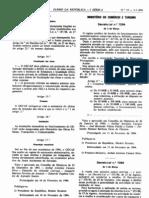 Estabelecimentos Alimentares - Legislacao Portuguesa - 1994/03 - DL nº 73 - QUALI.PT