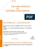software como producto vs software como servicio
