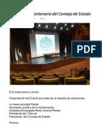 Evento Del Bicentenario Del Consejo de Estado