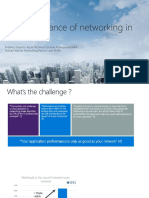 The Importance of Networking in the Cloud