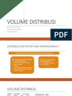Tugas Kelompok 4 Volume Distribusi