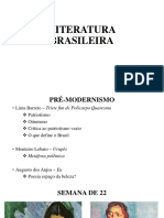 AULA Literatura Brasileira