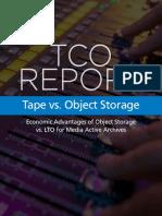Tape vs Object Storage