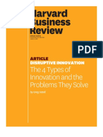 The 4 Types of Innovation and the Problems They Solve
