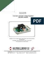 Regulador de voltaje AVR/UVR