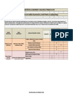 Matriz de Jerarquizacion actividad Del SG-SST sena