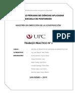 Trabajo Grupal N°02 - Proyectos