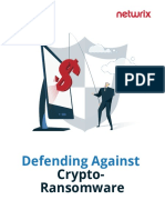 Defending Agains CryptoRamsonWare