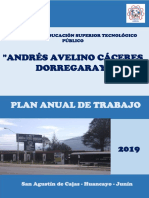 Plan de Trabajo Pat 2019