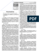 Resolución Sobre La Declaración de Habilitación Urbana en SJL