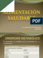 Sindrome Metabolico y Alimentacion Saludable
