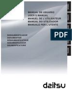 Daitsu ADDH-10 Dehumidifier