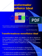 Tema 2.2 Transf.monofasico Ideal