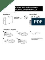 Manual Pro 1200