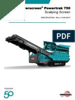 Manual Powertrak 750