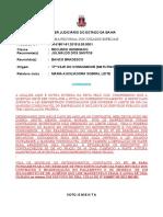 Ri -0141801-61.2015.8.05.0001 Voto Ementa Consumidor Banco Empréstimo Margem Ultrapassada Prov