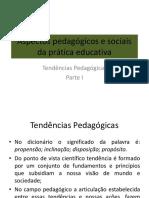 Aspectos Pedagógicos e Sociais Da Prática Educativa