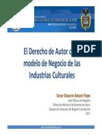 Generalidades del derecho de autor - Colombia
