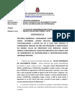 Ri -0004651-90.2015.8.05.0113 - Banco. Cobrança Indevida Nulidade Da Citação Retorno Dos Autos Prov