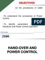 ZTE Handover and Power Control