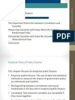 Empirical Tools of Public Finance Lecture 1