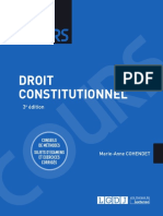 Partiels blancs Semestre 2, 2019 - Droit Constitutionnel - Cours