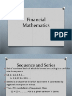 PowerPoint presentation on Financial Mathematics