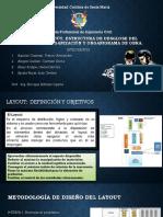 Layout, Estructura de Desglose Del Trabajo