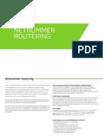 Belfabriek Netnummer Routering