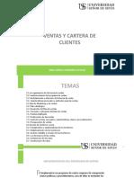 VENTA Y CARTERA DE CLIENTES