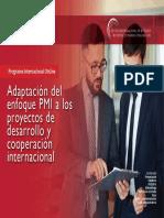Aepmi Adaptacion Del Enfoque PMI a Los Proyectos de Desarrollo y Cooperacion Internacional